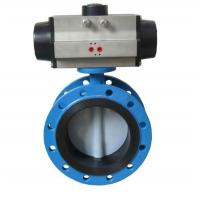 Buy cheap Penumatic Flange Butterfly Valve from wholesalers