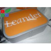China Water Resistant LED Illuminated Projecting Signs No Light Spot For Store Logo on sale