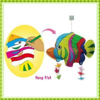 Buy cheap DIY Painting Toy hang fish from wholesalers