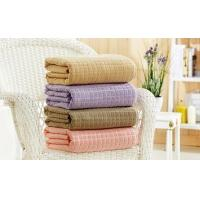 China 100% Cotton Bed Throw and Blanket wholesale