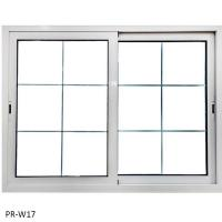 China Window Nice design glass slide wi Model: PR-W17 on sale