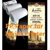 China Solvent&Eco-Sovlent Adhesive PP paper wholesale
