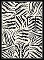 Buy cheap Animal Print Rugs Creative Home Area Rugs: Safari Rug: 4255-90 Black from wholesalers