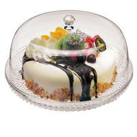 Buy cheap Acrylic Cake Tray & Cover - 12 1/2 Dia., L 12.5 x W 12.5 x H 7 from wholesalers