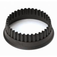 Buy cheap 1 1/8 Fluted Round PA+ Cookie Cutter, L 1.125 x W 1.125 x H 1.375 from wholesalers