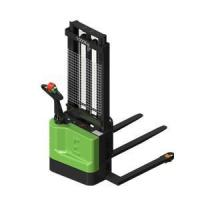 Buy cheap Straddle type walkie electric pallet stacker from wholesalers