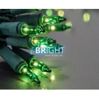 Buy cheap Globe string lights String Lights, 100 Mini Classic Bulbs, 50 ft Green Wire, Green from wholesalers