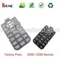 100% Silicon Rubber Keypad Custom Rubber Keypad Mobile Phone Parts Manufacturer