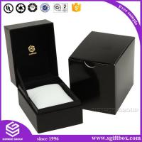 China Watch box Luxury Matte Soft Touch Paper Box with Pillow Insert For Smart Brand Packaging Watch Box wholesale