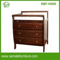 China BABY FURNITURE 3 drawers pine wood baby on sale
