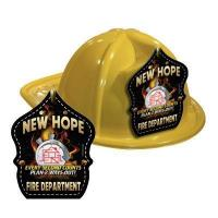 China Imp. Yellow Fire Hat w/ 2017 Theme wholesale