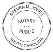 China Notary Public Rubber Stamp wholesale
