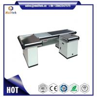 Automatic Electric Motorized Conveyor Belt Checkout Counter Table Desk for Retail Convenience Store