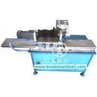 China Automatic Wave-Shaped Roller Brush Trimming Machine WXD-TM400 wholesale