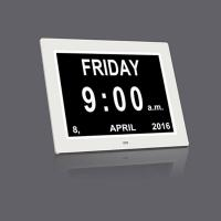 China 10.1 Inch led digital day clock for elderly wholesale
