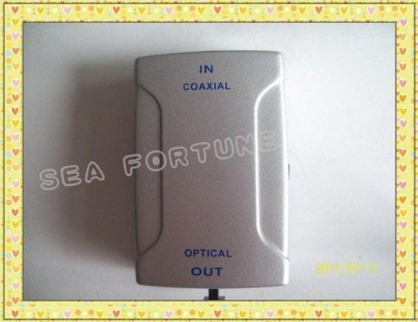 Quality COAXIAL TO OPTICAL ,COAXIAL IN OPTICAL OUT CHANGER SWITCH FREE SHIPPING for sale
