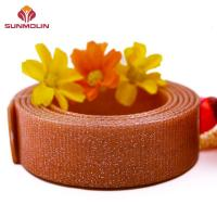 China Webbing Shining brown TPU / PVC coated waterproof webbing wholesale