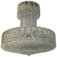 Buy cheap A Mid Century to Modern Round Crystal Chandelier Stock Number: L398 from wholesalers