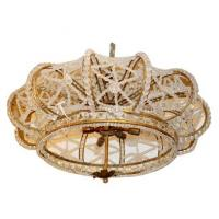 Buy cheap Early 20th C. French Crown Shaped Beaded Chandelier Stock Number: L161 from wholesalers