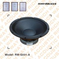 Buy cheap RW-G001-A fullrange speaker from wholesalers