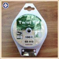 China Gardening Plant Twist Ties With Cutter on sale
