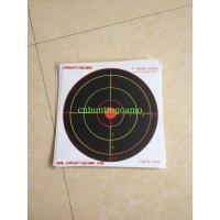 China Heavy Card Reactive Splatter Shooting Targets, Multi Colour wholesale