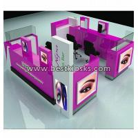 China New styling eyelash extension kiosk for mall wholesale