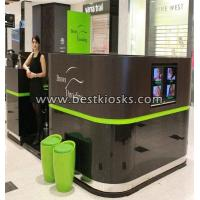 China High private one entrance eyebrow bar kiosk design wholesale