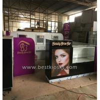 China Eyebrow threading kiosk R7 wholesale