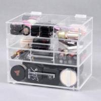 China Big Clear Bathroom Cosmetic Organizer wholesale