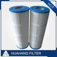 China Polyester Pleated Swimming Pool Water Filter Cartridge on sale