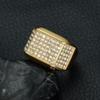 China Rings Gold Stainless Steel Rings wholesale