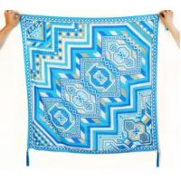 China Womens Cotton Silk Scarves wholesale