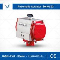 Buy cheap Series 92/93 Double Acting Spring Return Butterfly Valves Pneumatic Actuator from wholesalers