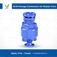 Buy cheap Sewage Combination Automatic Air Vent Release Valve with Flange Connection Thread from wholesalers