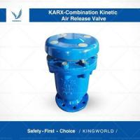 Buy cheap Ductile Iron Combined Automatic Air Vent Release Valve with Flanged Connection from wholesalers