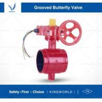Buy cheap FM UL Signal Grooved Butterfly Valve Fire Fighting Valve from wholesalers