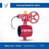 Buy cheap Price China FM UL Approved Fire Valve Signal Grooved Butterfly Valve from wholesalers