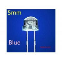 LEDs 5MM blue straw hat big blue LED, astigmatism light tube 3.2-3.4V