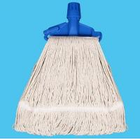 China Blended Poly / Cotton Kentucky Mop with Clip wholesale