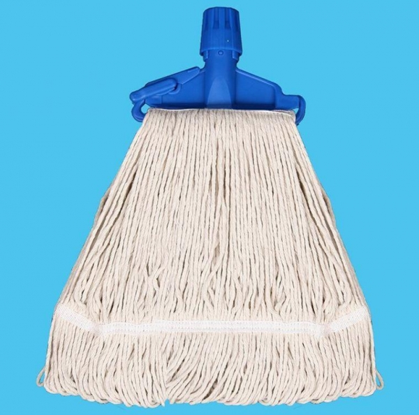 China Blended Poly / Cotton Kentucky Mop with Clip