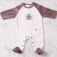 Buy cheap One Piece Long Sleeve Velvet Baby Romper with Feet from wholesalers