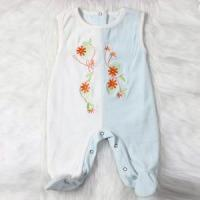 Buy cheap One Piece Sleeveless Velvet Baby Romper with Feet from wholesalers