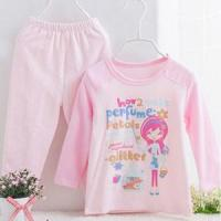 Buy cheap Sets Spring & Autumn Lovely Cute Baby Girl Pajamas Cotton Suit from wholesalers