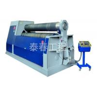 China Mechanical three roller symmetrical bending machine wholesale