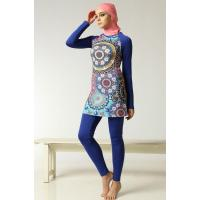 Buy cheap LADIES SWIMSUITS Ethnic Pattern Muslim Swimwear from wholesalers