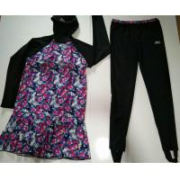 Buy cheap muslim swimwear suit with foot pants from wholesalers