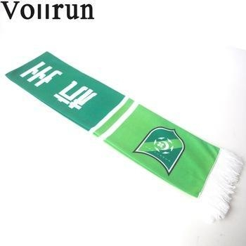 China Customize Printed Fleece Soccer Fan Scarf