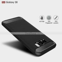 Samsung galaxy S8 Soft Tpu Case Shockproof Anti-Slippery Black