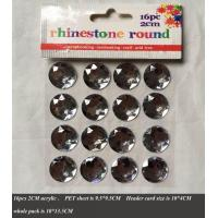 Buy cheap Paper items Selfadhesive bling, diamante, rhinestone sticker from wholesalers